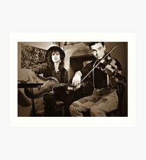 Duo -  Steve Wilson and Jeremy Brownbrooke Art Print