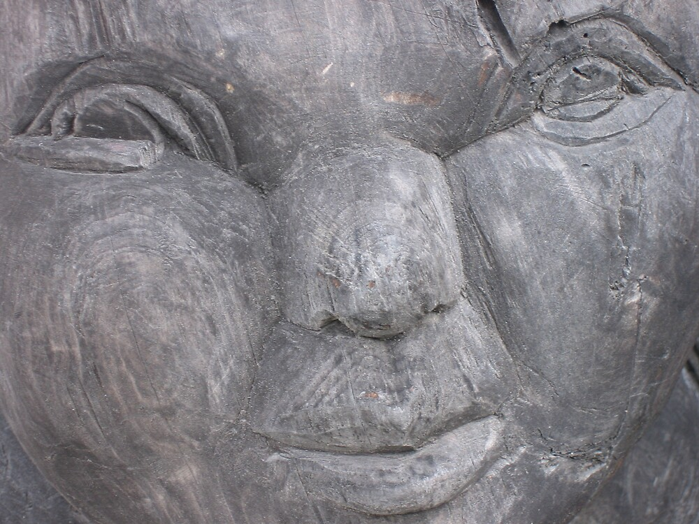 wood face by melanie tschiderer