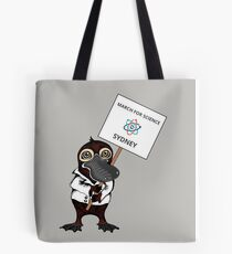 March for Science Sydney – Platypus, full color Tote Bag