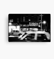 Night in New York Canvas Print