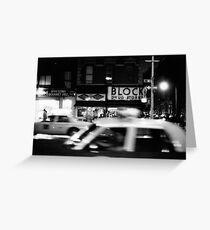 Night in New York Greeting Card