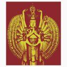 Avalokiteshvara Bodhisattva  1 - Design 2 by Kevin J Cooper