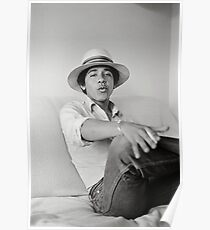 Photographs of Barack Obama as Barry the Freshman in 1980  Poster