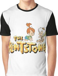 The Flintstones - Pebbles and Bam Bam Graphic T-Shirt