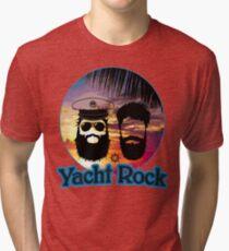 Yacht Rock AOR Music Shirt Tri-blend T-Shirt