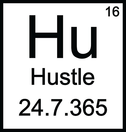 Hustle Periodic Table Hustle 247 Posters By Almosthillwood