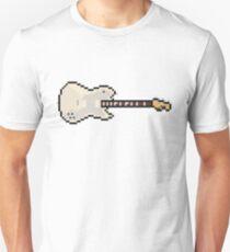 Pixel Silver CS Deluxe Guitar T-Shirt