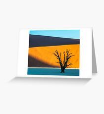 Deadvlei, Namibia Greeting Card
