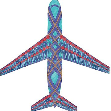 Airplane by SIKosofskyArt