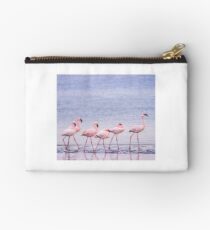 Flamingos (lesser) Studio Pouch
