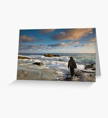 JESUS- FOLLOW ME AND I WILL MAKE YOU FISHERS OF MEN Greeting Card