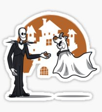 Ghostly Duo Sticker