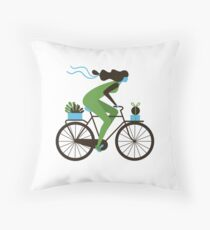 Delivery Day Throw Pillow