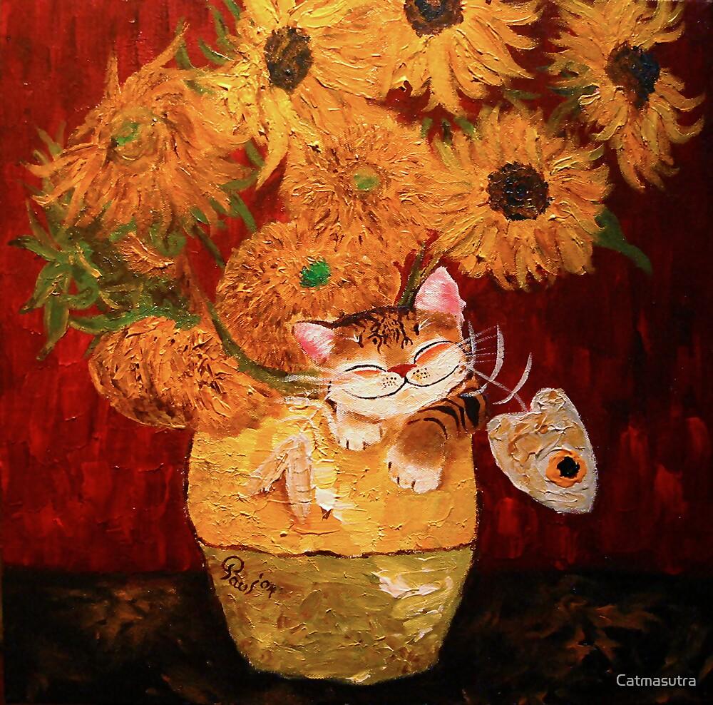 Catmasutra - Sunflowers by Catmasutra