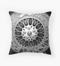 hubcap Throw Pillow