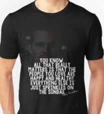 Qoute paul Unisex T-Shirt
