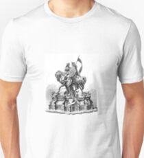 King and Queen - Love on Horseback T-Shirt