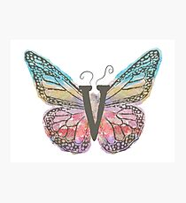 Bewildering Butterfly - Flying V Photographic Print