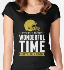 It's the most Wonderful Time Of The Year Women's Fitted Scoop T-Shirt