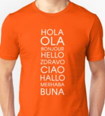 Hello - Multiple Languages T-Shirt