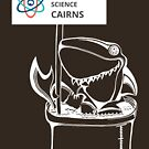 March for Science Cairns – Shark, white by sciencemarchau