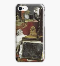 Charles Van Den Eycken - Chaos In The Studio iPhone Case/Skin