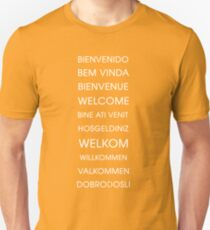 Welcome - Multiple Languages T-Shirt