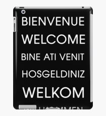 Welcome - Multiple Languages iPad Case/Skin