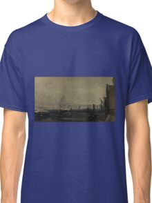 Charles-Francois Daubigny - St Pauls From The Surrey Side Classic T-Shirt