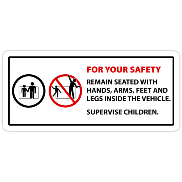 For Your Safety - No Dancing Warning  by ShopGirl91706