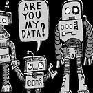 «¿Mis datos? Niño robot» de jarhumor