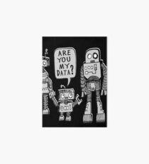 My Data? Robot Kid Art Board