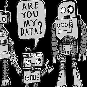 Meine Daten? Roboter Kid von jarhumor