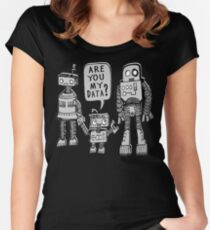 My Data? Robot Kid Women's Fitted Scoop T-Shirt