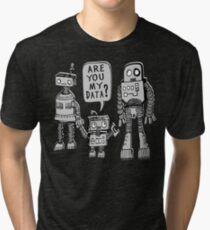 My Data? Robot Kid Tri-blend T-Shirt