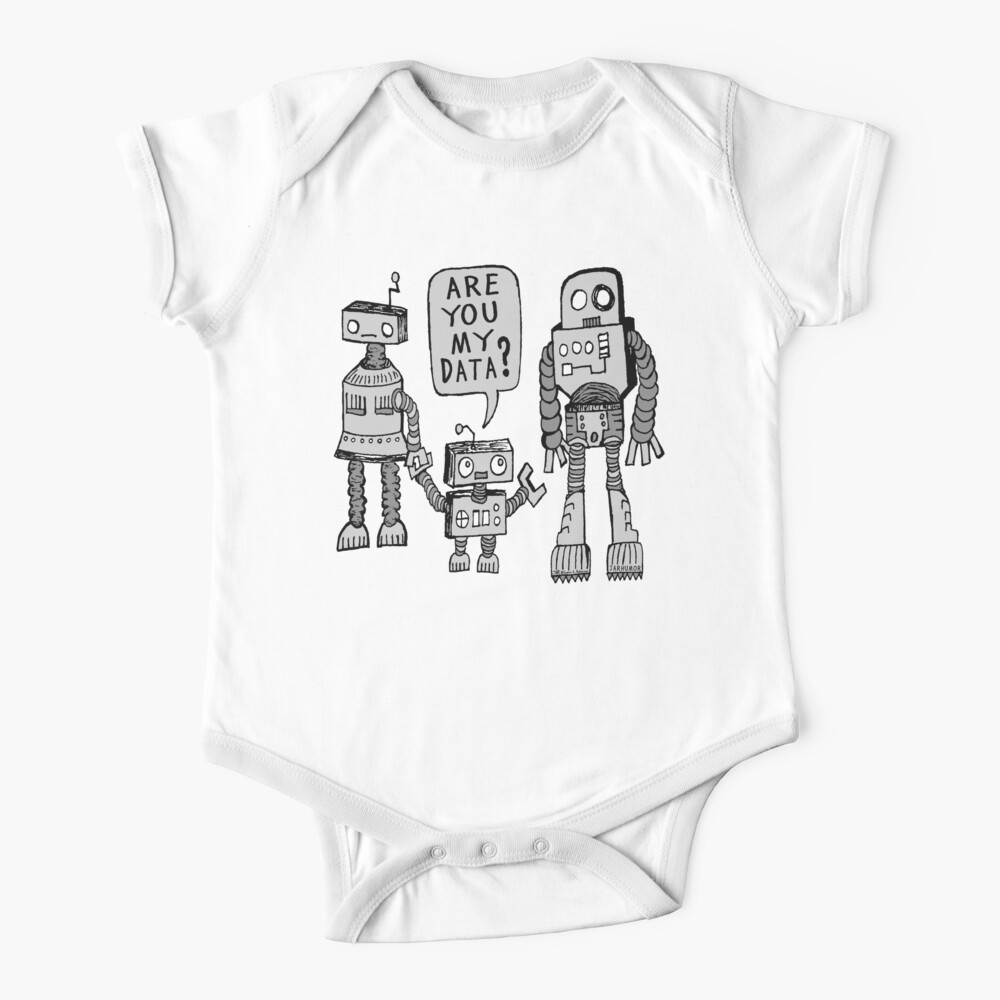 My Data? Robot Kid Baby One-Piece