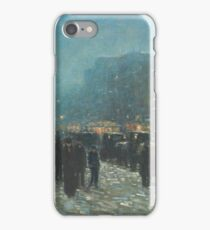 Childe Hassam - Broadway And 42nd Street iPhone Case/Skin