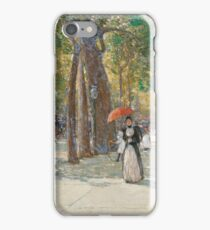 Childe Hassam - Fifth Avenue At Washington Square, New York iPhone Case/Skin