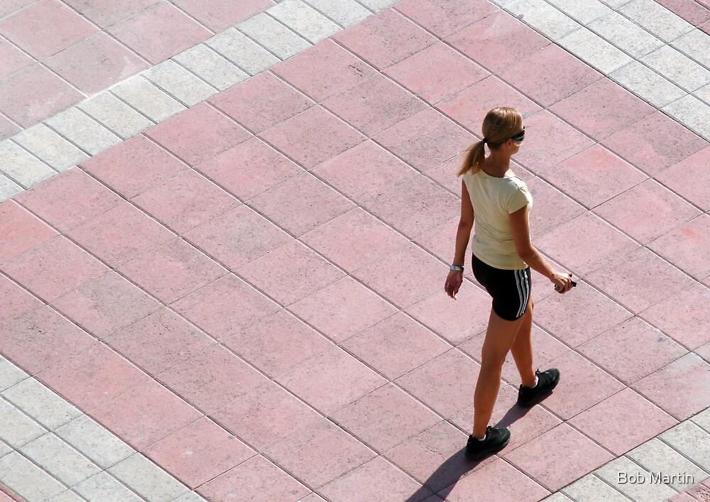 Walking alone by Bob Martin