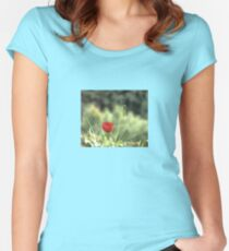 One Poppy Women's Fitted Scoop T-Shirt