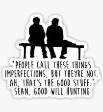 Good Will Hunting - The Good Stuff Sticker