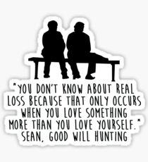 Good Will Hunting - Love Sticker
