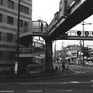 Kyoto Street Crossing by artbyeri