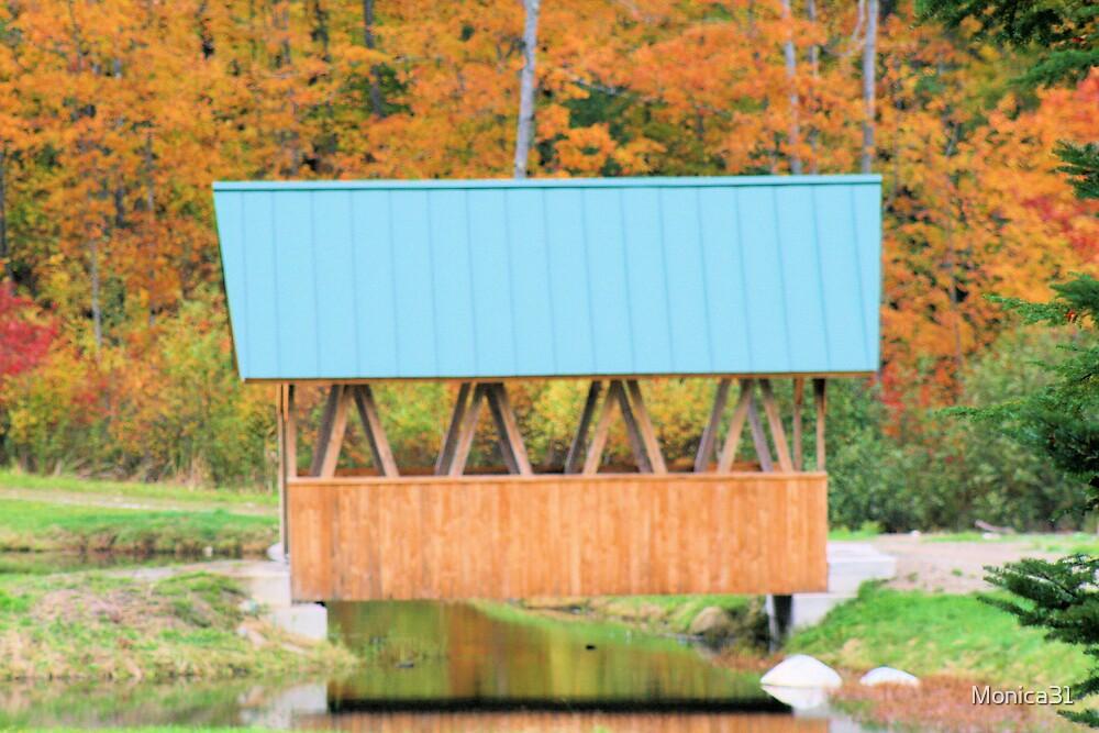 covered bridge by Monica31