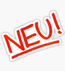 NEU! Sticker