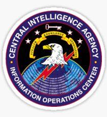 Central Intelligence Agency - Information Operations Center Logo Sticker
