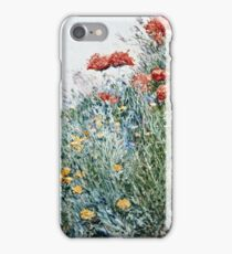 Childe Hassam - Poppies, Appledore iPhone Case/Skin