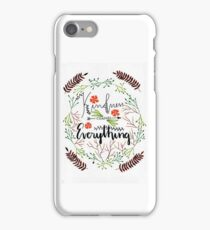 Kindness changes Everything iPhone Case/Skin