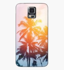 Beach sunset at the coast line Case/Skin for Samsung Galaxy
