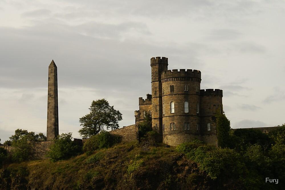 Edinburgh Castle by Fury